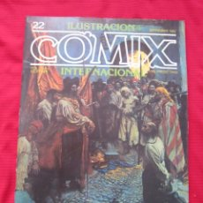 Cómics: ILUSTRACION + COMIX INTERNACIONAL. Nº 22. HOWARD PYLE, EISNER, ALTUNA, ETC. TOUTAIN EDITOR. Lote 236946880