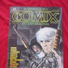 Cómics: ILUSTRACION + COMIX INTERNACIONAL. Nº 21. BRECCIA, EISNER, ALTUNA, ETC. TOUTAIN EDITOR. Lote 236946970