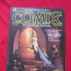 Cómics: ILUSTRACION + COMIX INTERNACIONAL. Nº 15. BRECCIA, FRAZETTA, ALTUNA, ETC. TOUTAIN EDITOR. Lote 236947150