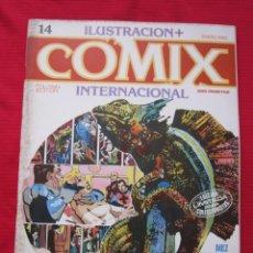Cómics: ILUSTRACION + COMIX INTERNACIONAL. Nº 14. BRECCIA, FRAZETTA, ALTUNA, ETC. TOUTAIN EDITOR. Lote 236947250