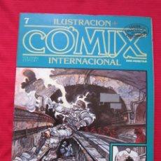Cómics: ILUSTRACION + COMIX INTERNACIONAL. Nº 7. ENKI BILAL, EISNER, ALTUNA, ETC. TOUTAIN EDITOR. Lote 236947495