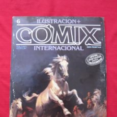 Cómics: ILUSTRACION + COMIX INTERNACIONAL. Nº 6. ENKI BILAL, EISNER, ALTUNA, ETC. TOUTAIN EDITOR. Lote 236947575
