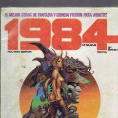 Cómics: 2 COMICS COLECCION 1984 N,27 Y 9 FANTASIA Y CIENCIA FICCION EDITORIAL TOUTAIN 1984. Lote 237025845