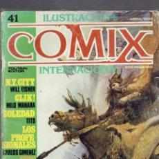 Cómics: 15 TOMOS ILUSTRACION COMIX INTERNACIONAL AÑO 1982 FANTASIA Y CIENCIA FICCION EDITORIAL TOUTAIN 1984. Lote 237027155