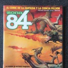 Fumetti: ZONA 84 - Nº 57 - REVISTA DE CÓMIC - 1ª EDICION - TOUTAIN - 1989 - ¡NUEVO!. Lote 237312830