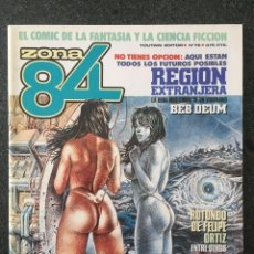 Fumetti: ZONA 84 - Nº 78 - REVISTA DE CÓMIC - 1ª EDICION - TOUTAIN - 1990 - ¡NUEVO!. Lote 237439905