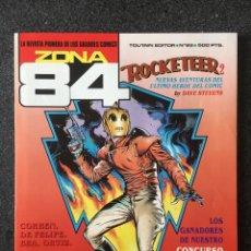 Comics : ZONA 84 - Nº 88 - REVISTA DE CÓMIC - 1ª EDICION - TOUTAIN - 1991 - ¡NUEVO!. Lote 237443090