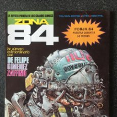 Fumetti: ZONA 84 - Nº 94- REVISTA DE CÓMIC - 1ª EDICION - TOUTAIN - 1992 - ¡COMO NUEVO!. Lote 237444630