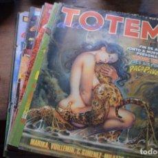 Cómics: LOTE DE 7 COMICS TOTEM, TOUTAIN, DIVERSAS FECHAS. Lote 237635435