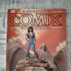Cómics: ILUSTRACION COMIX INTERNACIONAL JULIO 1982 N 20. Lote 237852680