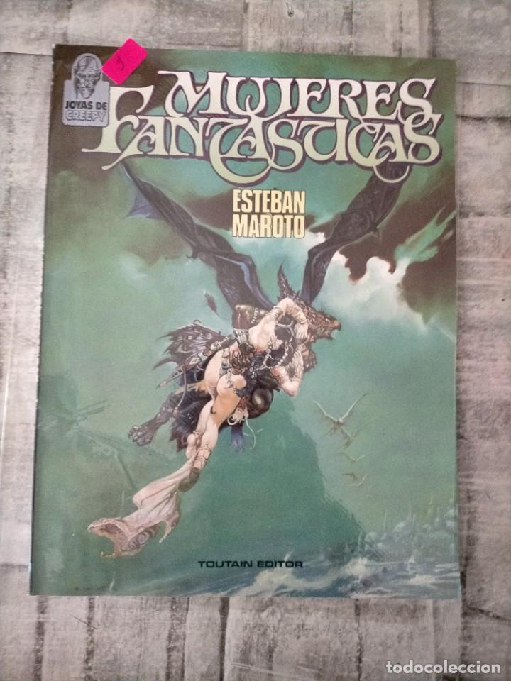 MUJERES FANTASTICAS ESTEBAN MAROTO TOUTAIN EDITOR 2 (Tebeos y Comics - Toutain - Álbumes)
