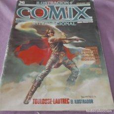 Cómics: COMIX INTERNACIONAL 36. Lote 238062380