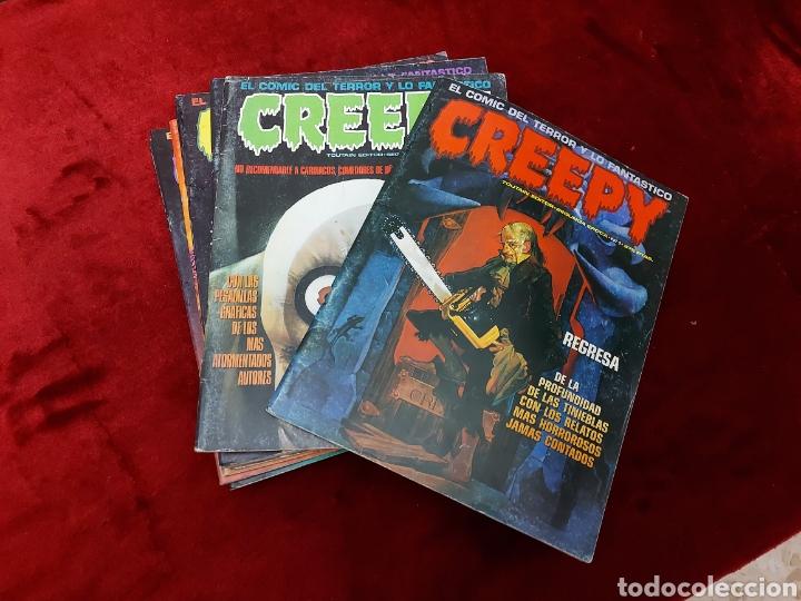 Cómics: COMIC CREEPY SEGUNDA EPOCA NUMEROS:1,2,3,5,7,8,9,10,11,12,13,14,16 Y 19/RICHARD CORBEN/TERROR/MIEDO - Foto 2 - 238134640