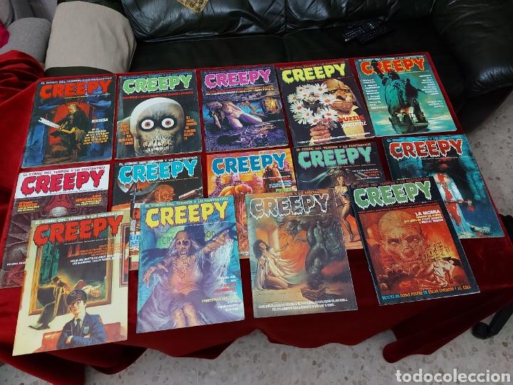 Cómics: COMIC CREEPY SEGUNDA EPOCA NUMEROS:1,2,3,5,7,8,9,10,11,12,13,14,16 Y 19/RICHARD CORBEN/TERROR/MIEDO - Foto 3 - 238134640