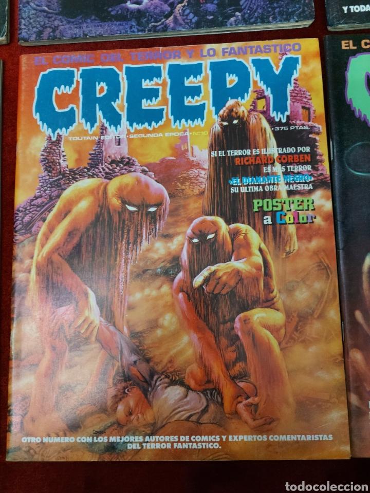 Cómics: COMIC CREEPY SEGUNDA EPOCA NUMEROS:1,2,3,5,7,8,9,10,11,12,13,14,16 Y 19/RICHARD CORBEN/TERROR/MIEDO - Foto 7 - 238134640