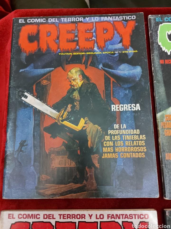 Cómics: COMIC CREEPY SEGUNDA EPOCA NUMEROS:1,2,3,5,7,8,9,10,11,12,13,14,16 Y 19/RICHARD CORBEN/TERROR/MIEDO - Foto 13 - 238134640