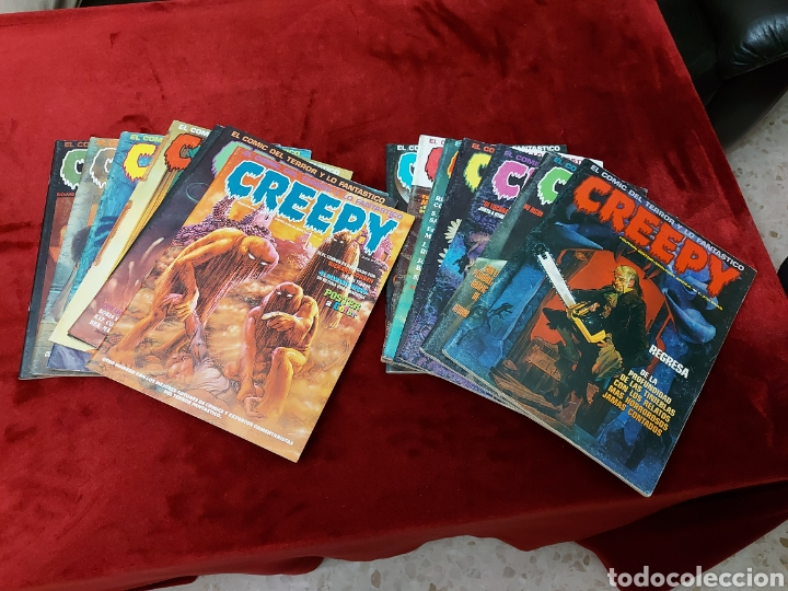 COMIC CREEPY SEGUNDA EPOCA NUMEROS:1,2,3,5,7,8,9,10,11,12,13,14,16 Y 19/RICHARD CORBEN/TERROR/MIEDO (Tebeos y Comics - Toutain - Creepy)