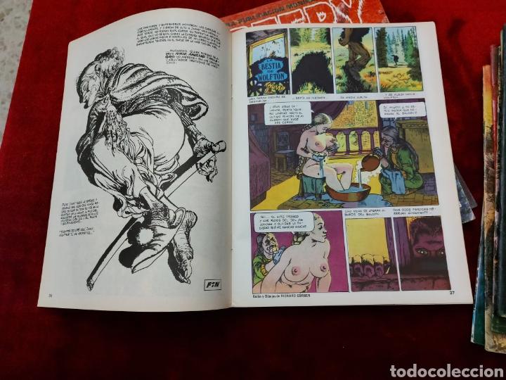 Cómics: CREEPY 1°EPOCA NUMEROS:7,12,13,15,21,22,34,37,43 Y 44 ,EL COMIC DEL TERROR Y LO FANTASTICO/CORBEN - Foto 38 - 238315595