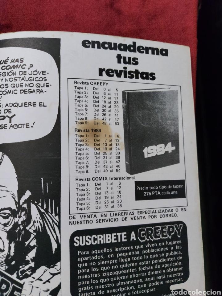 Cómics: CREEPY 1°EPOCA NUMEROS:41,43,57,58,50,60 Y 69 ,EL COMIC DEL TERROR Y LO FANTASTICO/PANICO/MIEDO - Foto 8 - 238324230