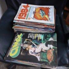 Cómics: LOTAZO 1984 Y CIMOC. Lote 238388550