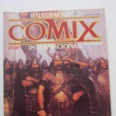 Comics: ILUSTRACION + COMIX INTERNACIONAL Nº 39 GIMENEZ, EISNER, DAS PASTORAS NC WYETH OUTAIN ARX54. Lote 238605365