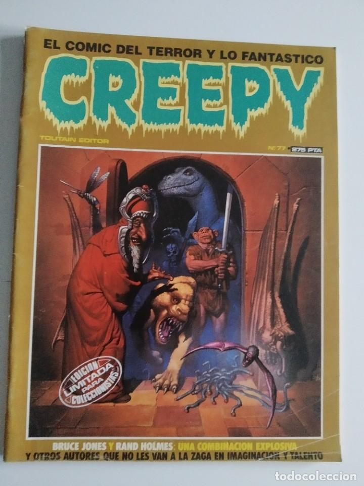 CREEPY Nº 77 ~ TOUTAIN ~ (Tebeos y Comics - Toutain - Creepy)