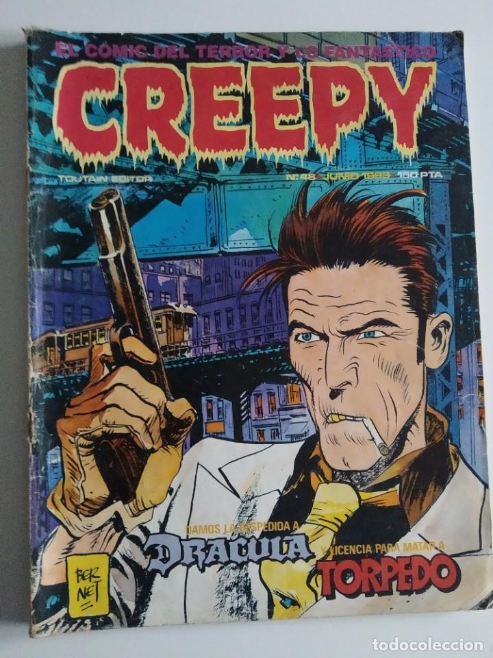 CREEPY Nº 48 ~ TOUTAIN ~ (Tebeos y Comics - Toutain - Creepy)