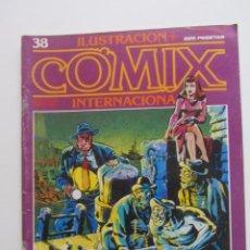 Comics: ILUSTRACION + COMIX INTERNACIONAL Nº 38 BRECCIA MANARA EISNER GIMENEZ TOUTAIN ARX59. Lote 239758610