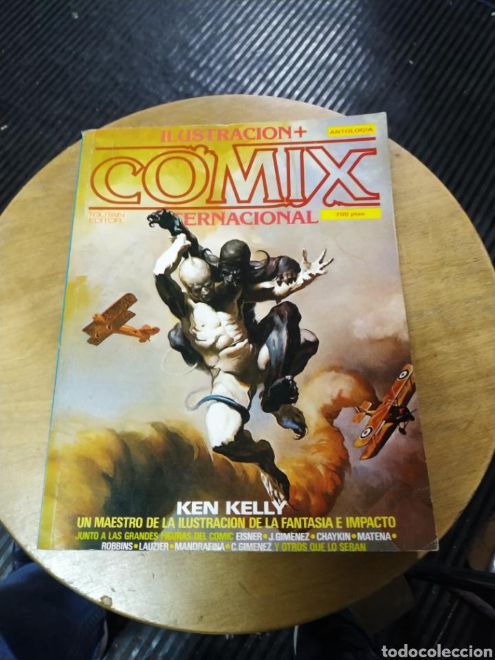 ANTOLOGÍA COMIX INTERNACIONAL 28-29-37 (TOUTAIN) (Tebeos y Comics - Toutain - Comix Internacional)