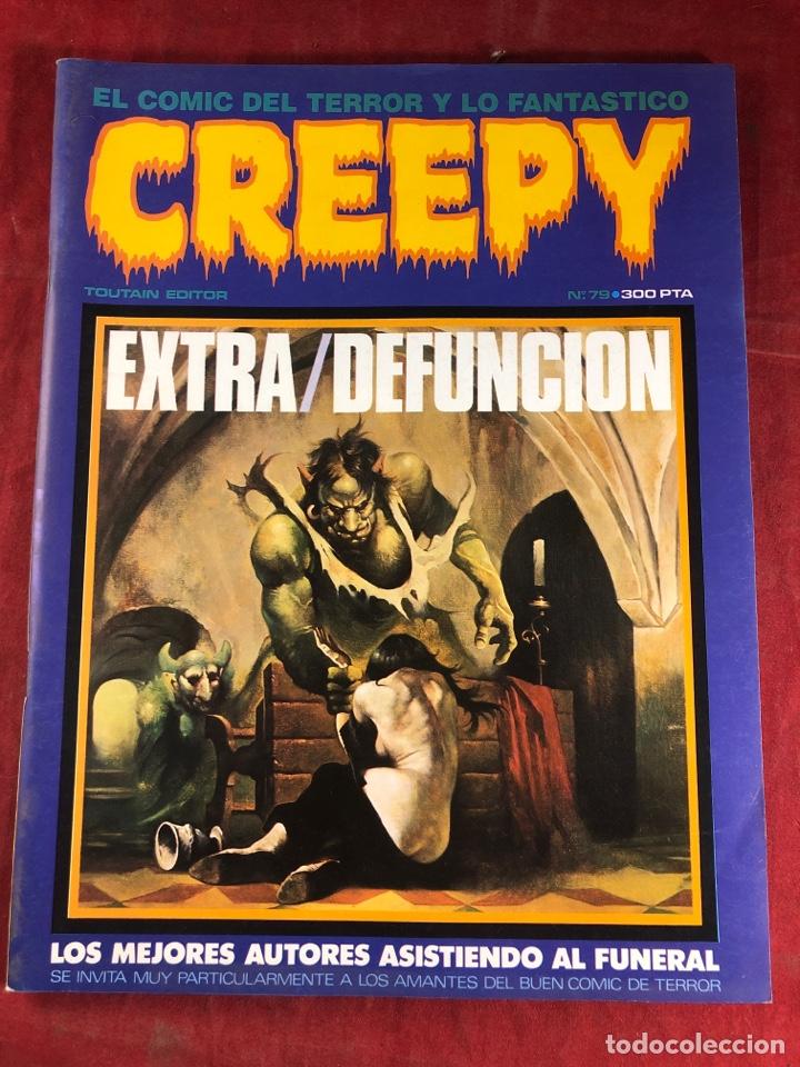 CREEPY NÚM 79 (Tebeos y Comics - Toutain - Creepy)