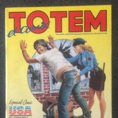 Cómics: TOTEM EL COMIX Nº 19 - 1ª EDICIÓN - TOUTAIN - 1988 - ¡COMO NUEVO!. Lote 241172435