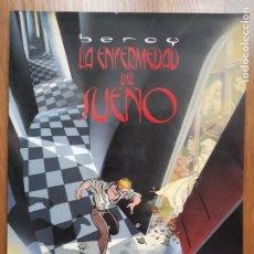 Cómics: LA ENFERMEDAD DEL SUEÑO - BEROY - TOUTAIN EDITOR - 1988. Lote 241301470