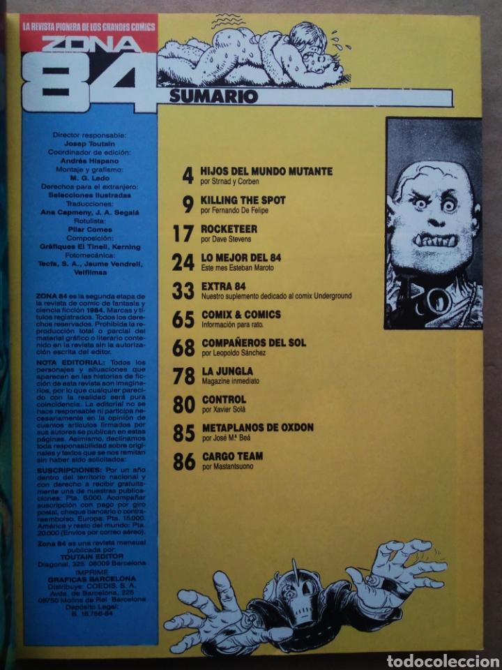 Cómics: Retapado Revista Zona 84: Números 89-90-91 (Toutain). Ver contenidos en fotos adicionales. - Foto 3 - 241303760