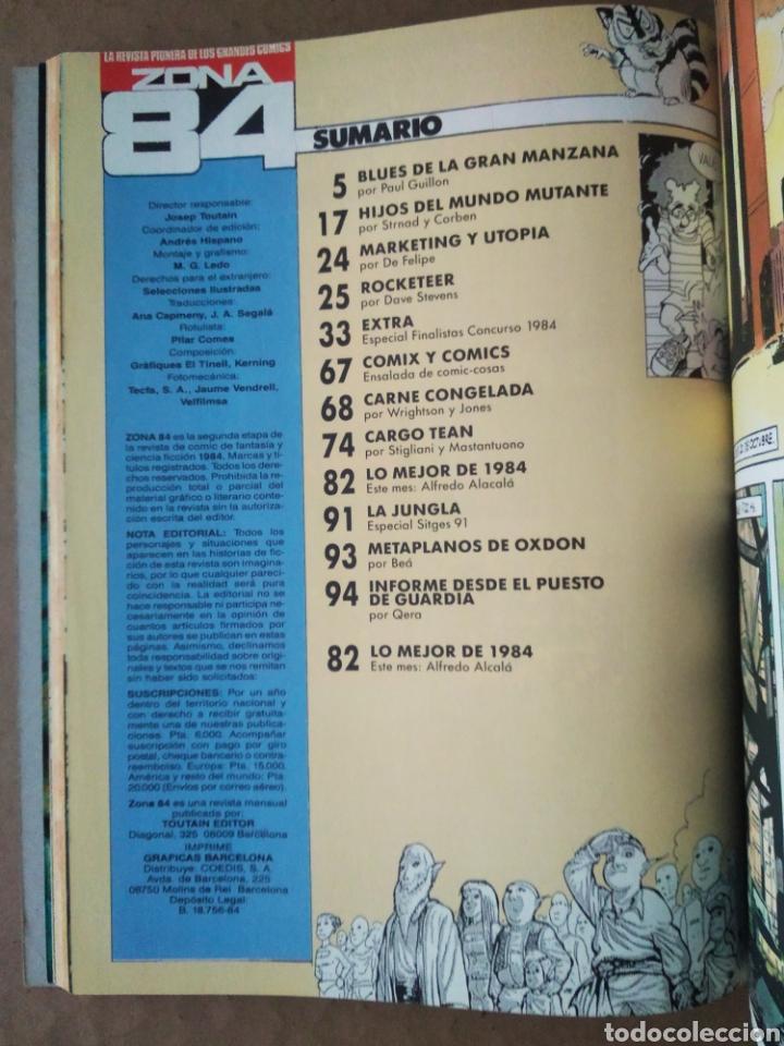 Cómics: Retapado Revista Zona 84: Números 89-90-91 (Toutain). Ver contenidos en fotos adicionales. - Foto 4 - 241303760