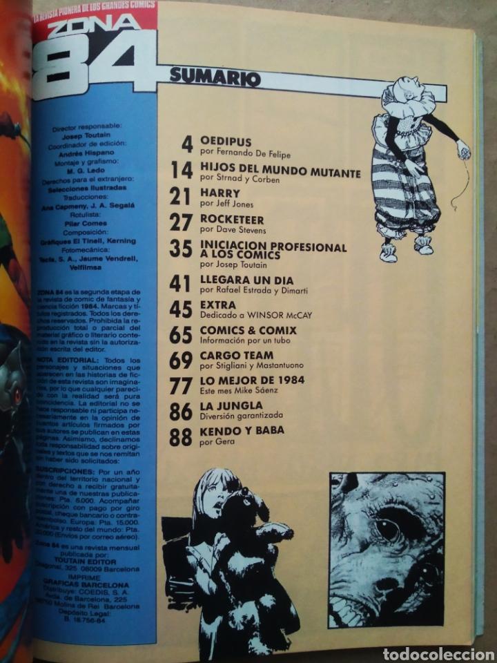 Cómics: Retapado Revista Zona 84: Números 89-90-91 (Toutain). Ver contenidos en fotos adicionales. - Foto 5 - 241303760