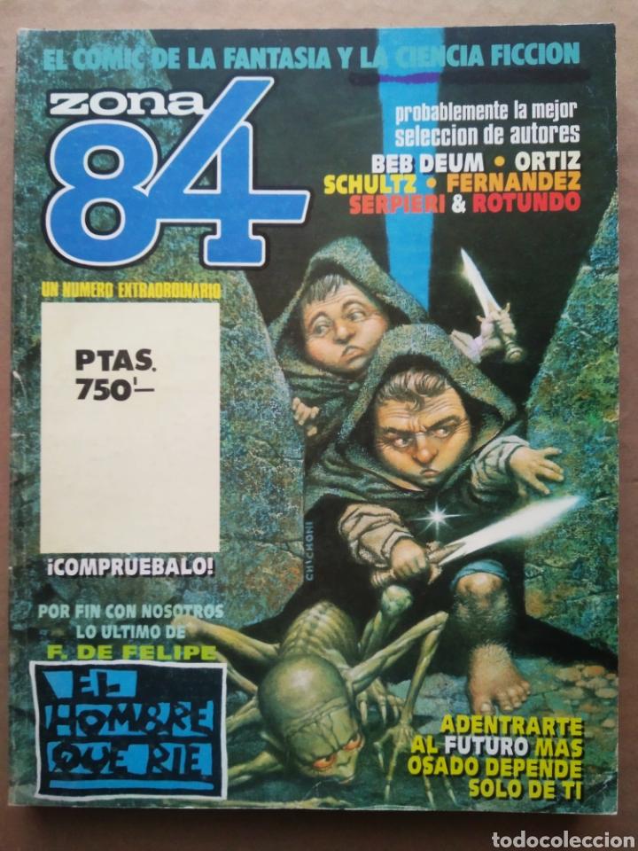 RETAPADO REVISTA ZONA 84: NÚMEROS 89-90-91 (TOUTAIN). VER CONTENIDOS EN FOTOS ADICIONALES. (Tebeos y Comics - Toutain - Zona 84)