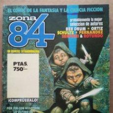 Cómics: RETAPADO REVISTA ZONA 84: NÚMEROS 89-90-91 (TOUTAIN). VER CONTENIDOS EN FOTOS ADICIONALES.. Lote 241303760