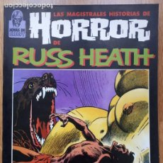 Cómics: LAS MAGISTRALES HISTORIAS DE HORROR DE RUSS HEATH - JOYAS DE CREEPY - TOUTAIN EDITOR - 1987. Lote 241385735