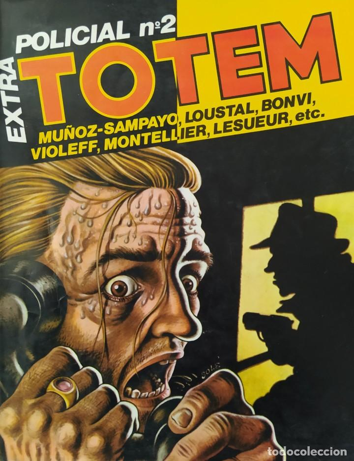 TOTEM EXTRA POLICIA №2 (Tebeos y Comics - Toutain - Otros)