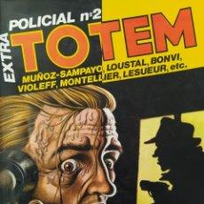 Cómics: TOTEM EXTRA POLICIA №2. Lote 241471735