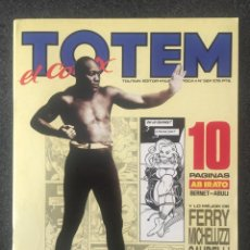 Cómics: TOTEM EL COMIX Nº 36 - 1ª EDICIÓN - TOUTAIN - 1989 - ¡NUEVO!. Lote 241653340