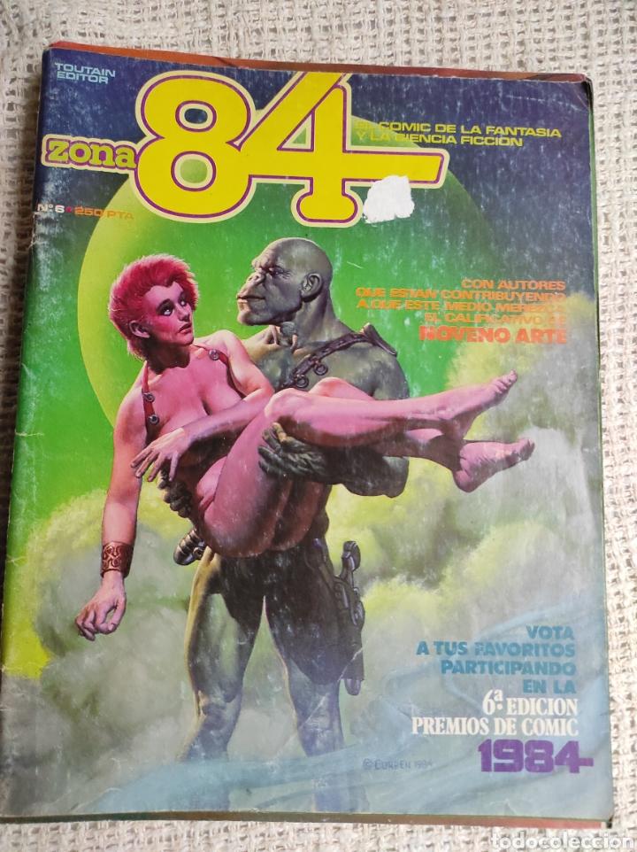 ZONA 84 Nº 2 EDITA : TOUTAIN (Tebeos y Comics - Toutain - Zona 84)