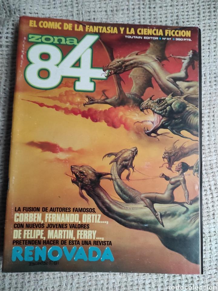ZONA 84 Nº 57 EDITA : TOUTAIN (Tebeos y Comics - Toutain - Zona 84)