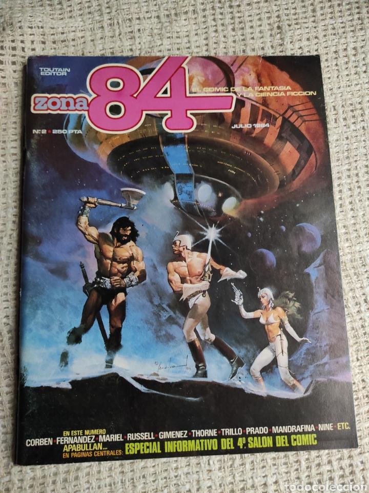 ZONA 84 Nº 2 - EDITA : TOUTAIN EDITOR - AÑOS 90 (Tebeos y Comics - Toutain - Zona 84)