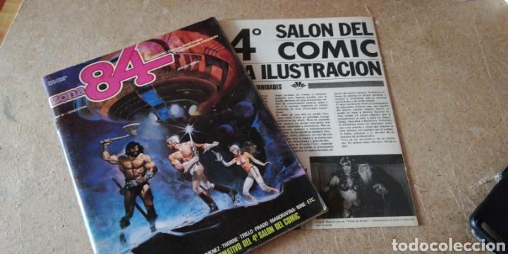 ZONA 84 N°2 ( TOUTAIN EDITOR) (Tebeos y Comics - Toutain - Zona 84)