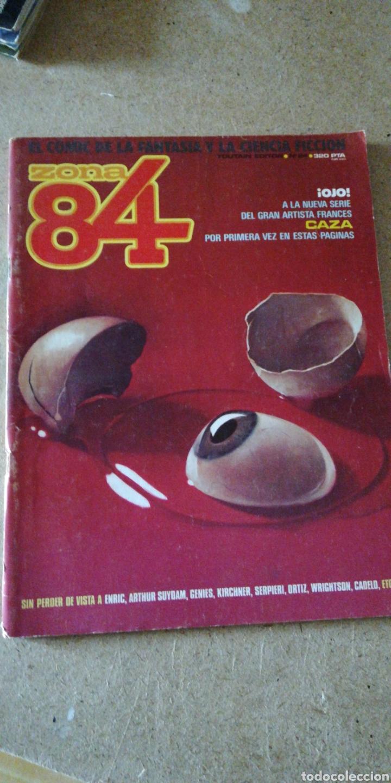 ZONA 84 N°24 ( TOUTAIN EDITOR) (Tebeos y Comics - Toutain - Zona 84)