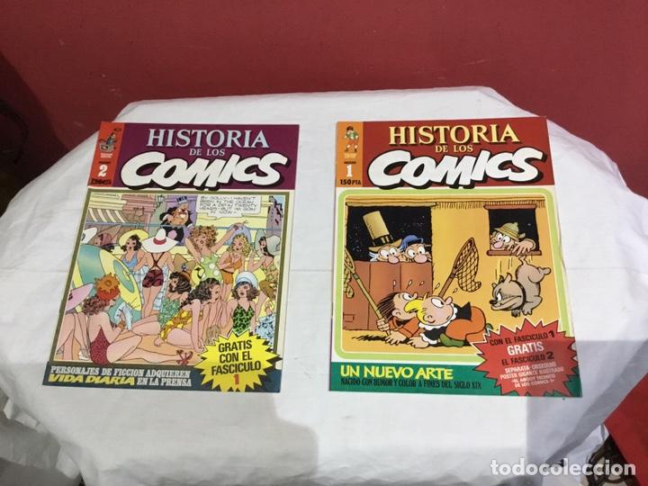 Cómics: COLECCION COMPLETA de la HISTORIA DE LOS COMICS . 48 números - Foto 2 - 242041850