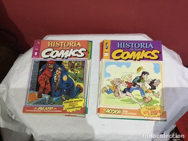 Cómics: COLECCION COMPLETA de la HISTORIA DE LOS COMICS . 48 números - Foto 6 - 242041850