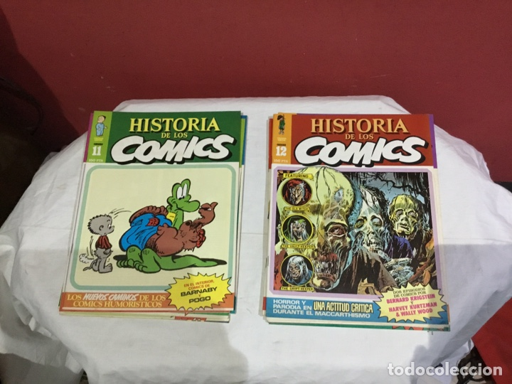 Cómics: COLECCION COMPLETA de la HISTORIA DE LOS COMICS . 48 números - Foto 7 - 242041850