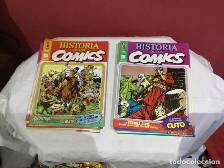 Cómics: COLECCION COMPLETA de la HISTORIA DE LOS COMICS . 48 números - Foto 9 - 242041850